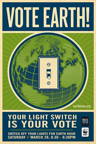 Earth Hour 2009 Poster